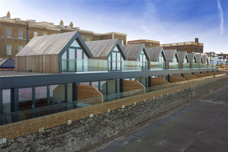 British Beach Homes Get Modern