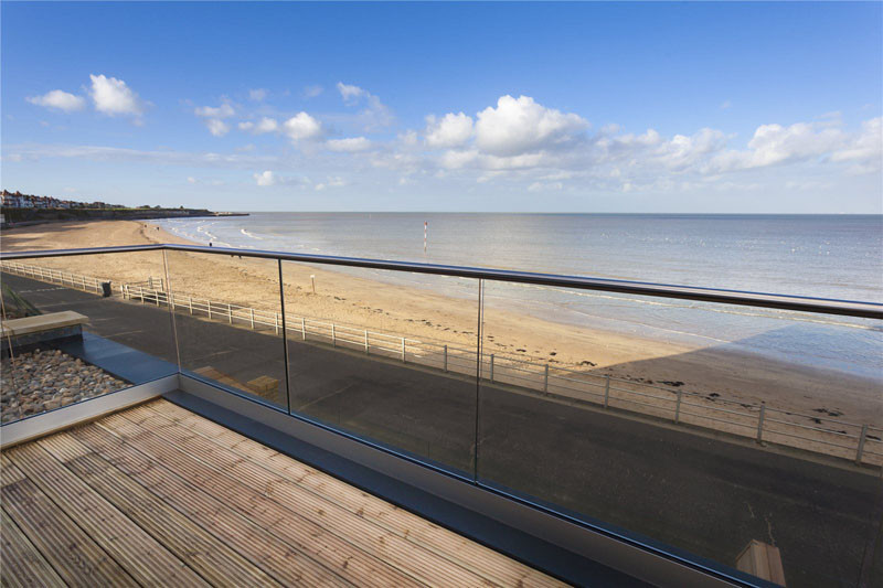 Margate Beach Houses by Guy Hollaway Architects