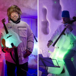 This guy makes instruments out of ice, and puts on concerts in an igloo