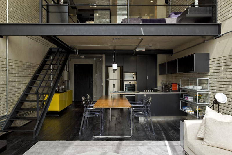 Industrial Loft by Diego Revollo Architecture