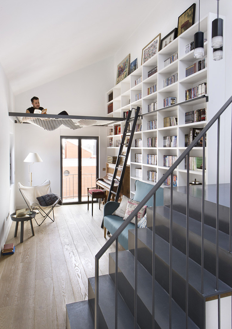 This Suspended Net Is The Perfect Place To Hang Out & Read A Book