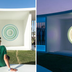 This light-based art installation became a popular chill-out zone at the Coachella Music Festival in California