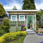 Forget The Man Caves, It's All About The She Shed This Spring
