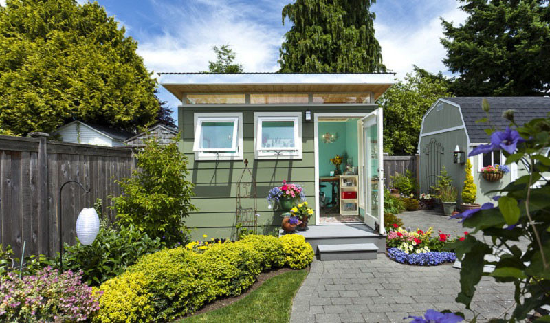 Forget The Man Caves, It?s All About The She Shed This Spring