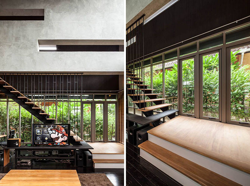 Design Detail – A Stair/Shelf Combination