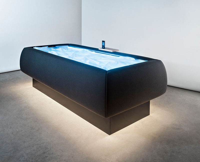 Feel like you're floating with this dry-pool