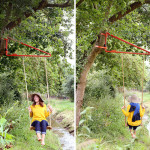 Now any tree or pole can become a swing