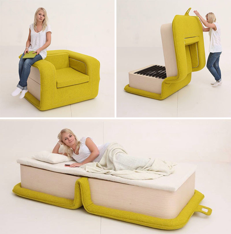 8 Suprising Pieces Of Furniture That Transform Into Something Else