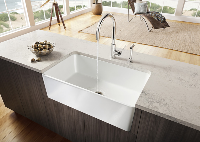 Blanco Overmount Sinks : ... Why You Should Have An Undermount Sink In Your Kitchen CONTEMPORIST