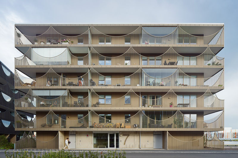 Västra Kajen Housing by Tham & Videgård Architects
