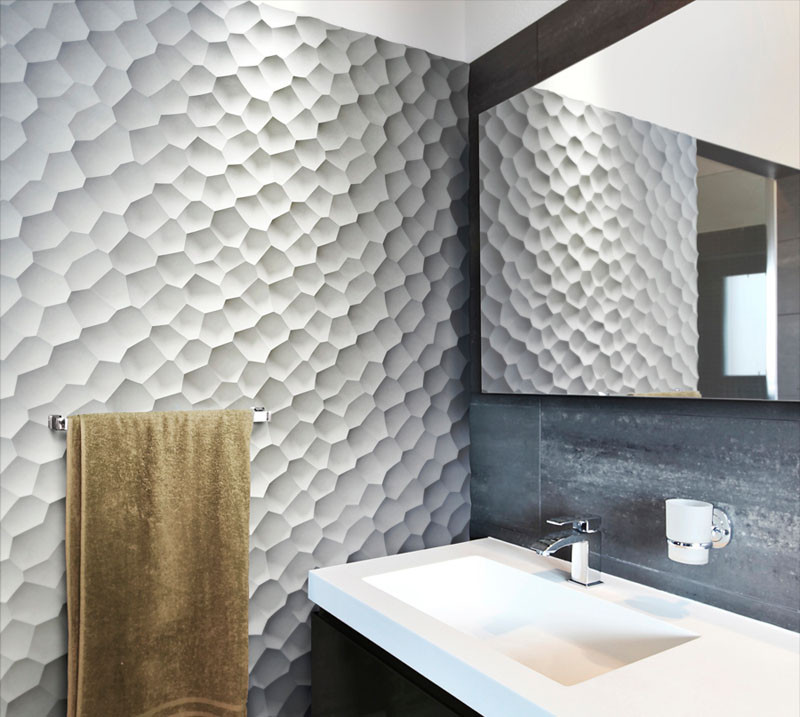 25 Creative 3D Wall Tile Designs To Help You Create Texture On Your Walls