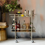 Here's What You Need To Create The Ultimate Bar Cart To Impress Your Friends