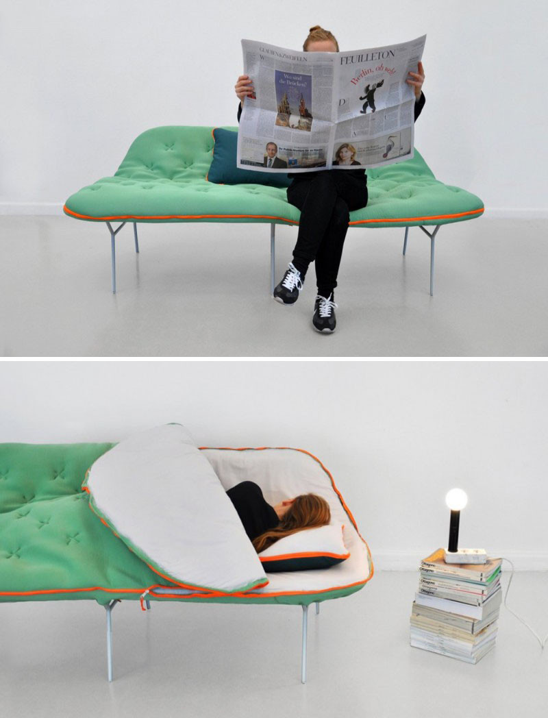 13 Ex&les Of How To Include A Bed In A Small Room & 13 Amazing Examples Of Beds Designed For Small Rooms | CONTEMPORIST