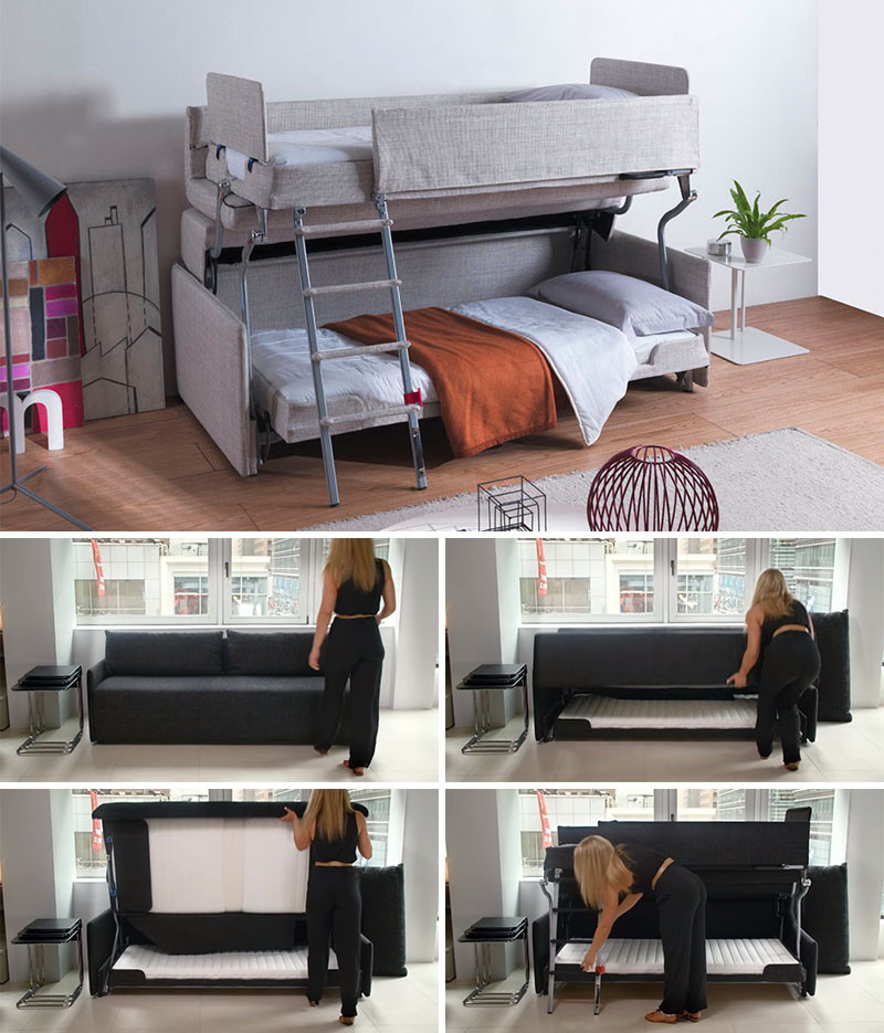 13 Amazing Examples Of Beds Designed For Small Rooms | CONTEMPORIST