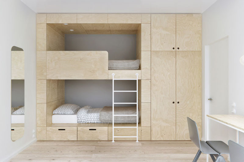 13 amazing examples of beds designed for small rooms for Best beds for small rooms