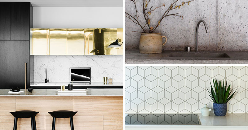 9 Ideas For Backsplash Materials You Can Install In Your Kitchen