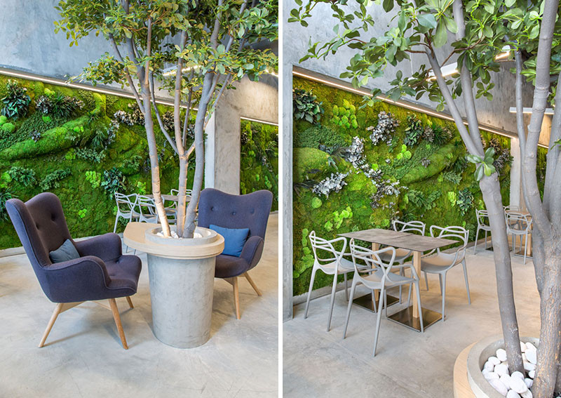 This Cafe Lets You Feel Like You're Dining In A Park