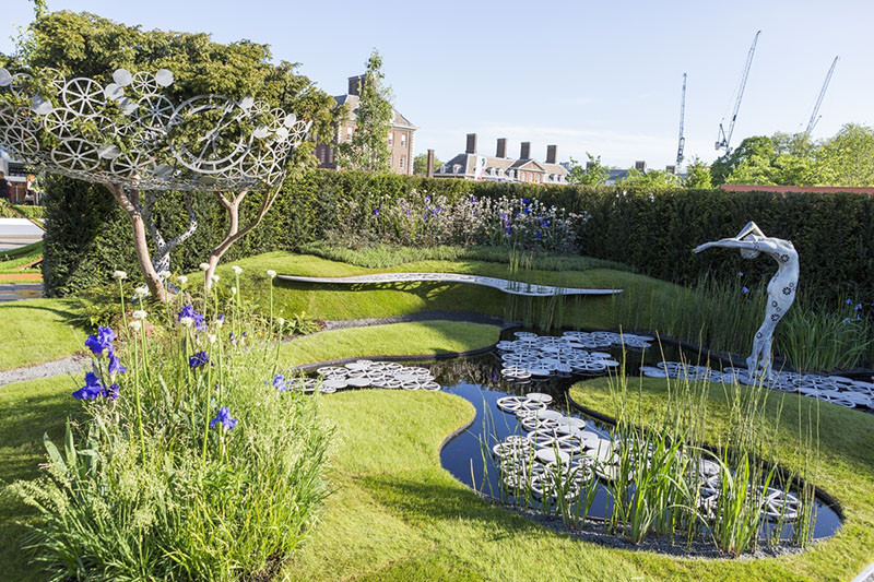 12 Inspirational Garden Designs From The 2016 Chelsea Flower Show // The Imperial Garden – Revive, designed by Tatyana Goltsova.