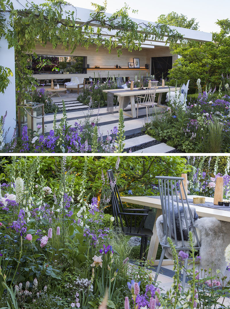 12 Inspirational Garden Designs From The 2016 Chelsea Flower Show // The LG Smart Garden, designed by Hay Joung Hwang.