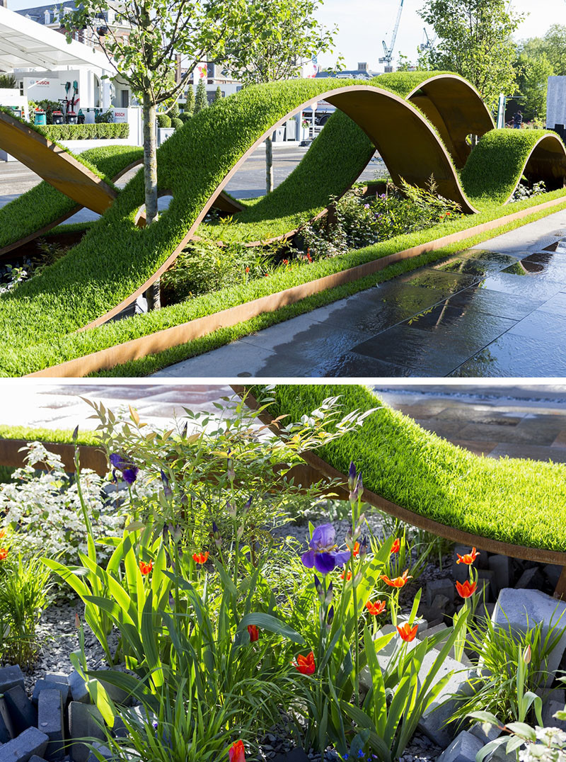 12 Inspirational Garden Designs From The 2016 Chelsea Flower Show // The  World Vision Garden