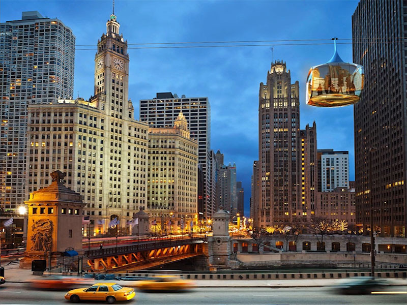 An Aerial Cable Car Has Been Proposed For Chicago