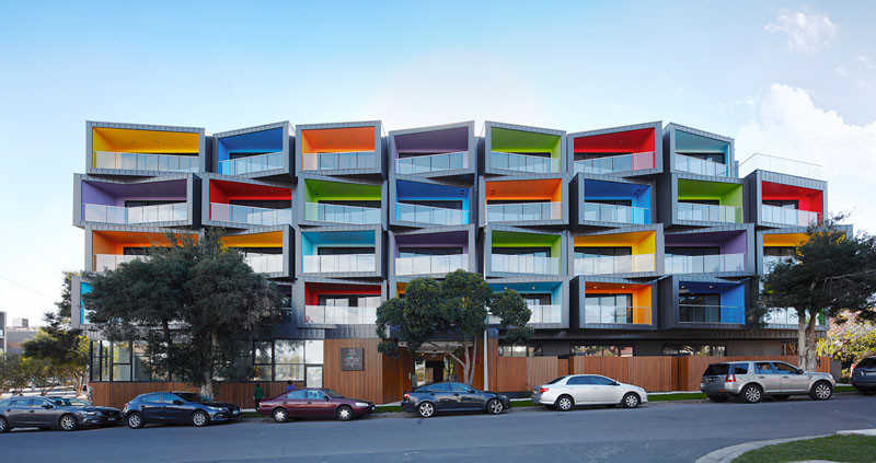 Spectrum Apartments by KUD (Kavellaris Urban Design)