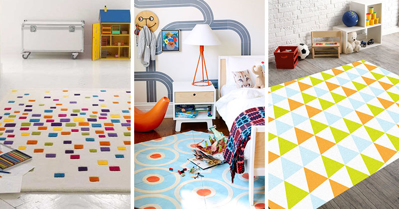 10 Cheerful Rugs That Will Brighten Up Any Kids Room