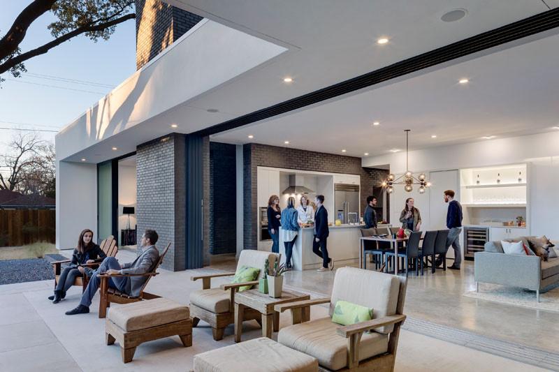 Main Stay House in Austin, Texas, designed by Matt Fajkus Architecture (MF Architecture)