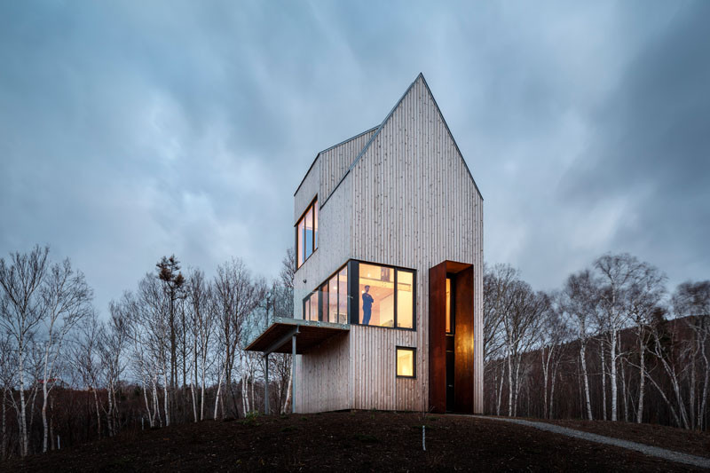 Rabbit Snare Gorge - Cabin, designed by Design Base 8 in collaboration with Omar Gandhi Architect Inc.