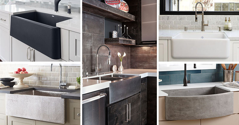 Can Farmhouse Sinks Be Contemporary?