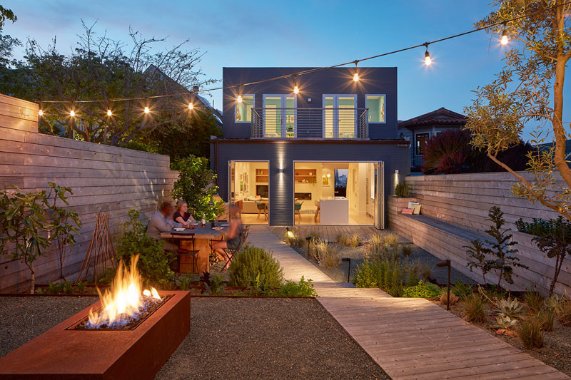 Randall Street House by YAMAMAR Design Architects