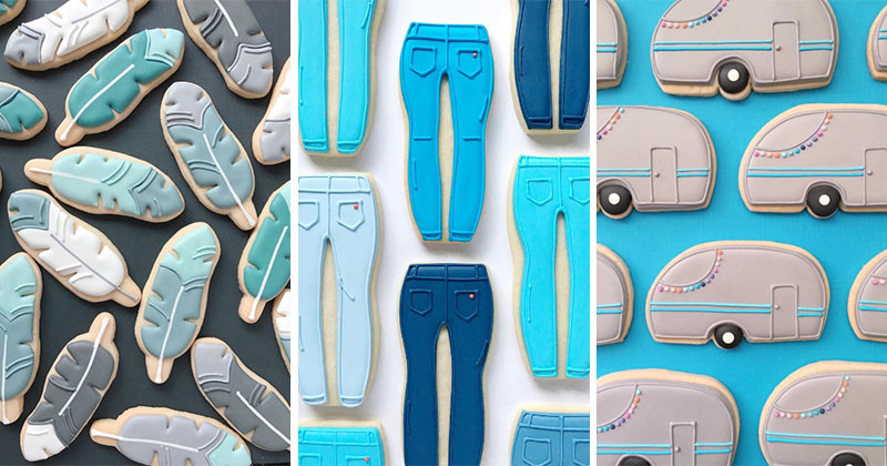 This Graphic Designer Has Turned Her Artistic Talents To Cookies