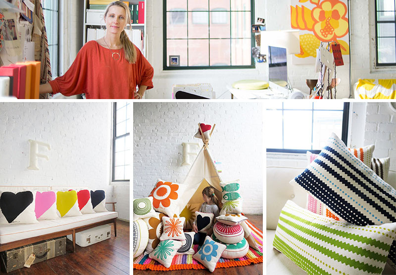 Graphic Print Pillows And The People Who Make Them