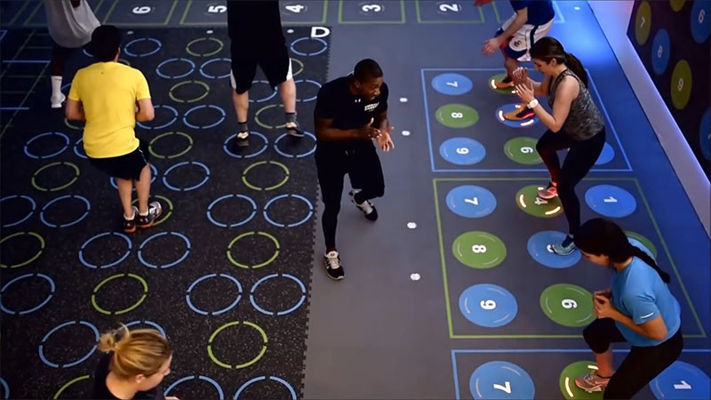 This new gym is designed to be like a video game