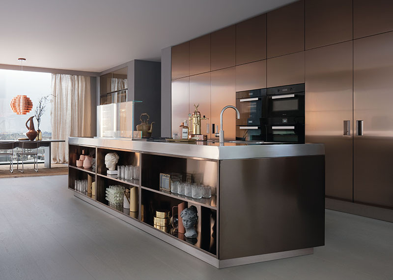 Vote Now - Kitchen Islands With Open Or Closed Shelving, Which Do You Prefer?