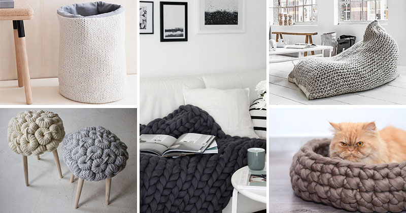 17 Of The Best Ways To Add More Knitted Things To Your Home