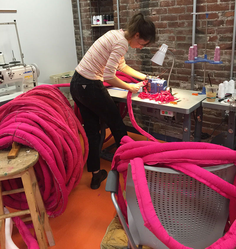 Have A Look At How This Colorful Woven Chair Was Made