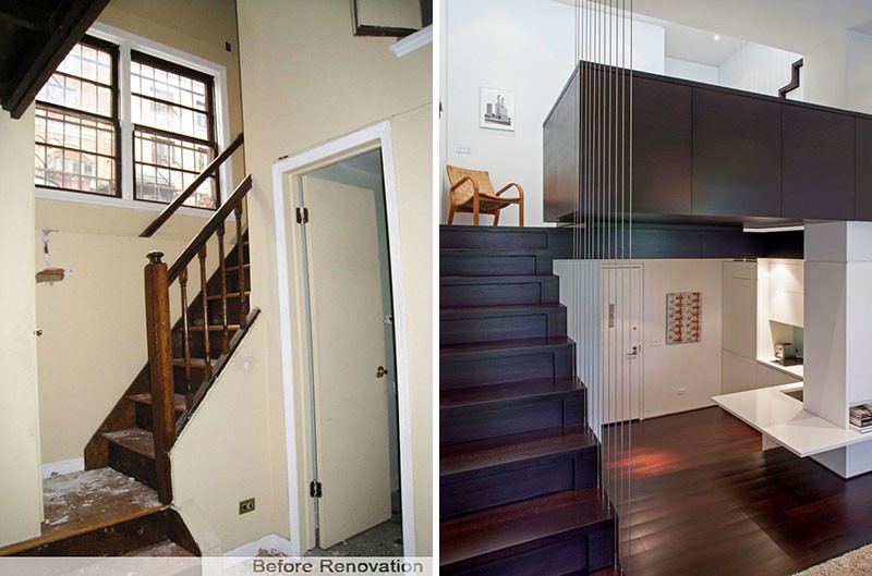 Inspiring Before And After Photos Of A New York Loft