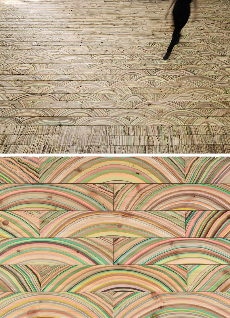 See How These Colorful Marbled Floors Are Made