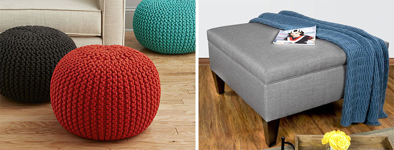 What Is The Difference Between A Pouf And An Ottoman? - What's The Difference Between A Pouf And An Ottoman? CONTEMPORIST