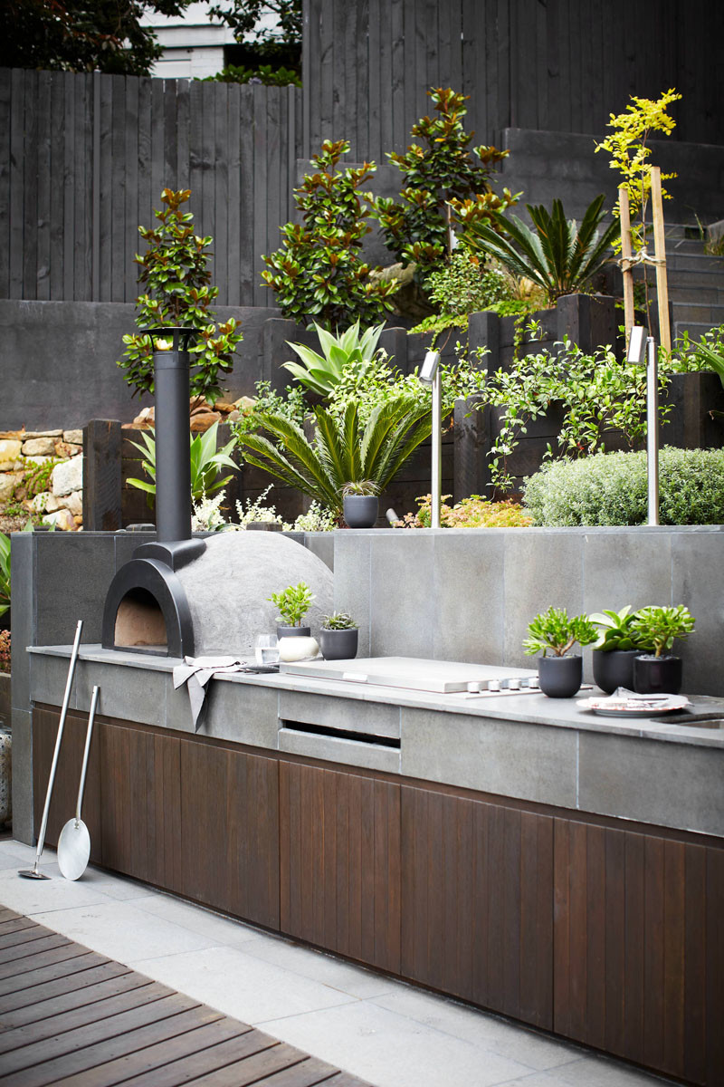 10 Awesome Outdoor BBQ Areas That Will Get You Inspired ... on Patio Grilling Area id=80635