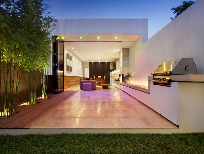 10 Awesome Outdoor BBQ Areas That Will Get You Inspired ... on Patio Grilling Area id=24681