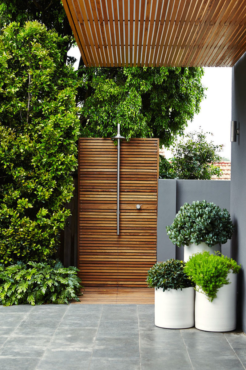 Beautiful This Zen Outdoor Shower Was Included In The Landscaping By Outdoor  Establishments.