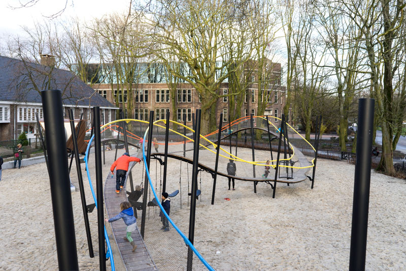 Amsterdam's Oosterpark Has A New Children's Playground
