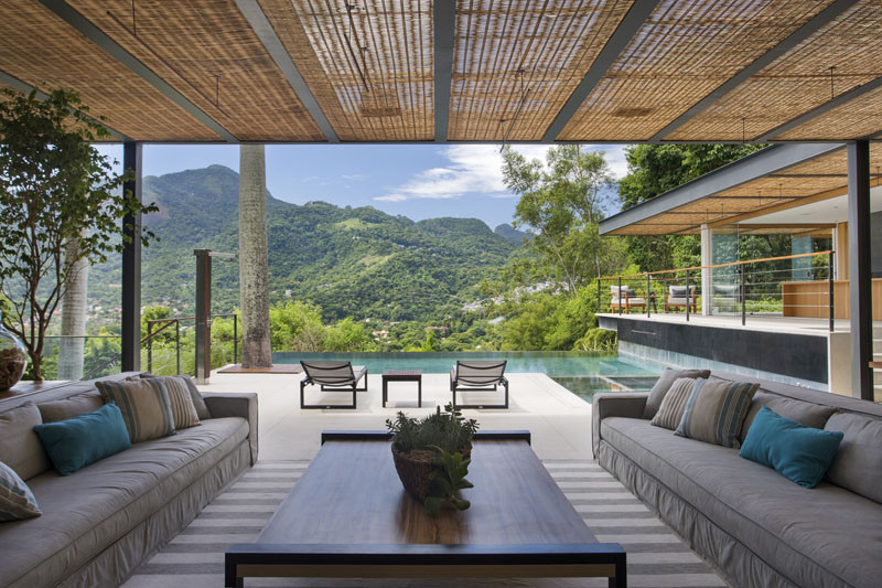 This Pool House Has Picturesque Views Of The Brazilian Countryside