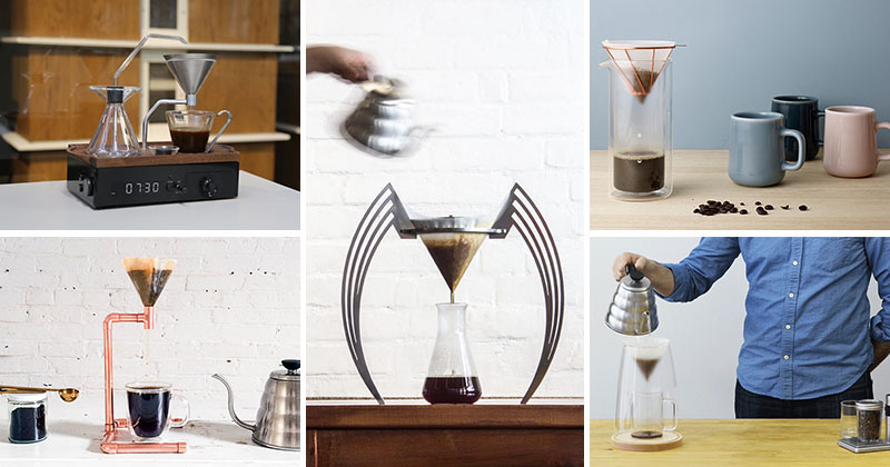 15 Pour Over Coffee Stands That All You Coffee Snobs Need To Be Aware Of