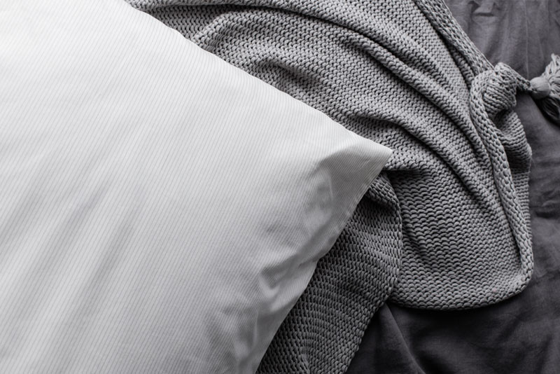 Find Out Why This Pillow Has Silver Thread Woven Into It