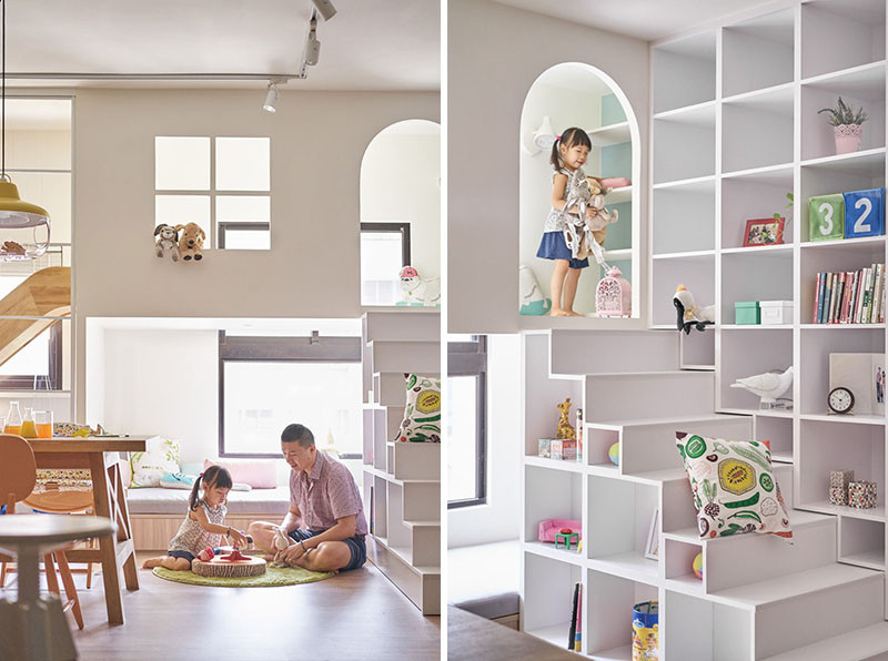 Design Detail - This Home Has A Lofted Playspace & Slide