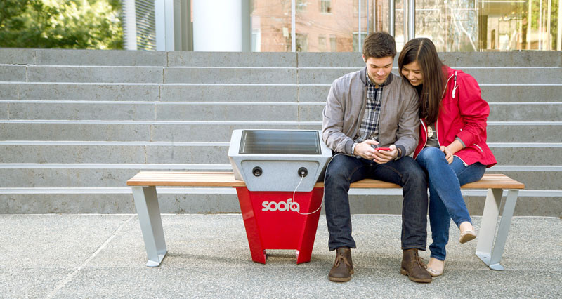 Solar-powered charging benches to be installed in NYC