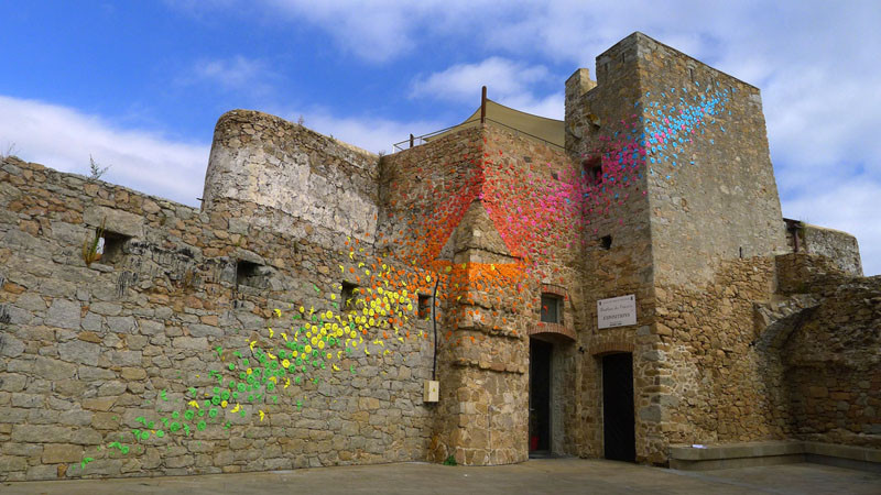 This Urban Artist Creates Rainbow Colored Art Around The World
